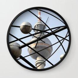 World Clock East Berlin Wall Clock