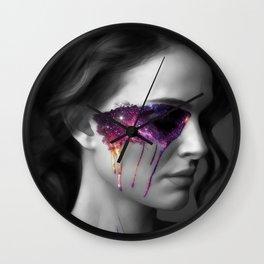 Universe paint Wall Clock