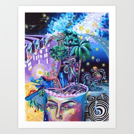 Cabal of One's Own Consciousness Art Print
