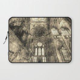 York Minster Vintage Laptop Sleeve