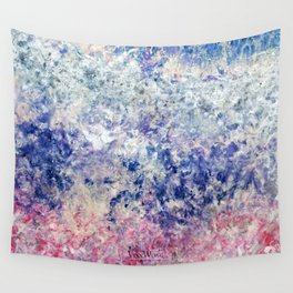 Twilight Tides - Abstract Art Wall Tapestry