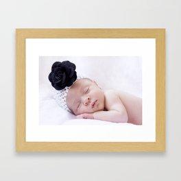 Baby girl Framed Art Print