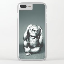 See Hear & Speak No evil Clear iPhone Case