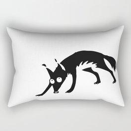 Black fox no. 4 Rectangular Pillow