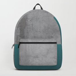 Concrete Turquoise Backpack