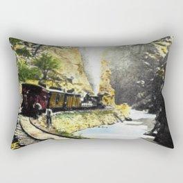 To Central City Rectangular Pillow