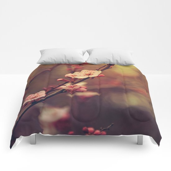 Beauty of Cherry Blossom Comforters