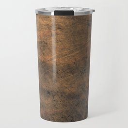 Scratched Suede Tobacco Travel Mug