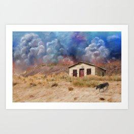 Storm Vista Art Print