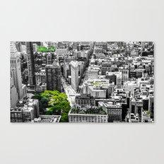 NYC - City Green Canvas Print