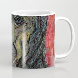 The Wolf's Dilemma Coffee Mug