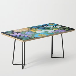 Dragonfly Floral Coffee Table