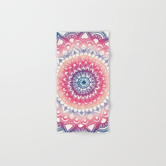 Ocean Sunset Mandala Hand & Bath Towel
