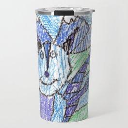 Cool Raccoon Travel Mug