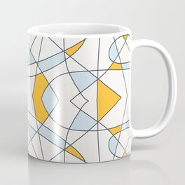 Abstract Retro Colored Church Window Coffee Mug