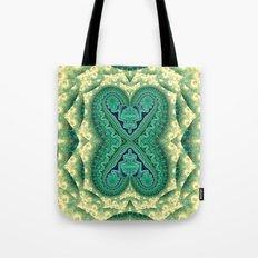 Tribal Twin Hearts Tote Bag