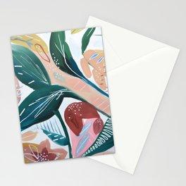 Botanical Green Leaf Jungle Stationery Cards