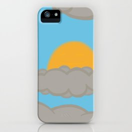 Freedom From Thoughts iPhone Case