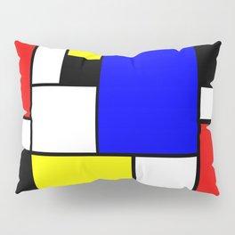 Mondrian Style Pillow Sham
