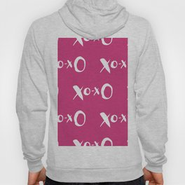 Kisses XOXO Violet Red Hoody