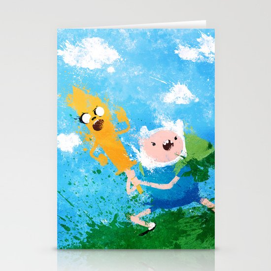 Battle Bros! Stationery Cards