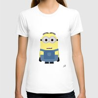 minion T-shirts featuring Minion by finkledink1997