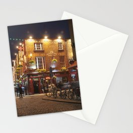 Temple Bar in Dublin Stationery Cards