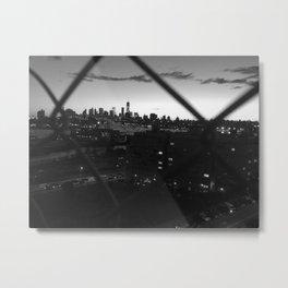 The Darkest City Metal Print