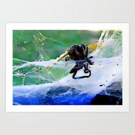 Don't Bug Me ! Art Print