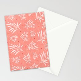 Island Breeze Living Coral Stationery Cards