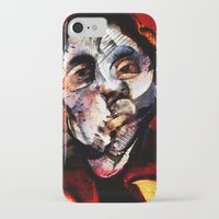 boxing iPhone & iPod Cases featuring Boxing Bacon by Genco Demirer
