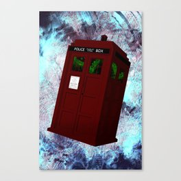View From the Tardis Portal Canvas Print