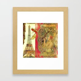 The Crickets of Paris Framed Art Print