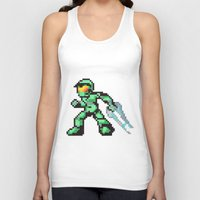 master chief Tank Tops featuring master chief by Walter Melon