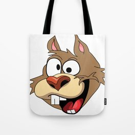 Krazy Squirrel  Tote Bag