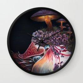 Hadal Borealis Wall Clock
