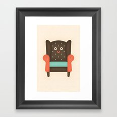 Arm Chair Framed Art Print