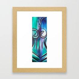 Water Woman 2 Framed Art Print