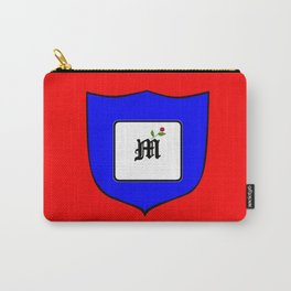A Family Crest with a Capital Letter M, Mu Carry-All Pouch
