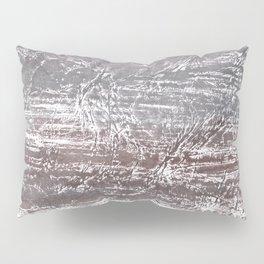 Gray nebulous wash drawing Pillow Sham