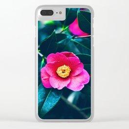 Gloomy Bloom Clear iPhone Case