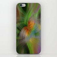 flight iPhone & iPod Skins featuring Flight by Deborah Janke