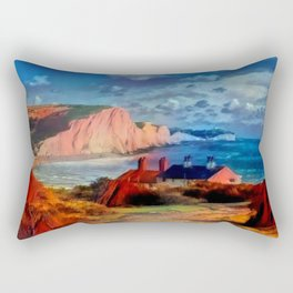 Dover in the Colors Of Ayers Rock Rectangular Pillow