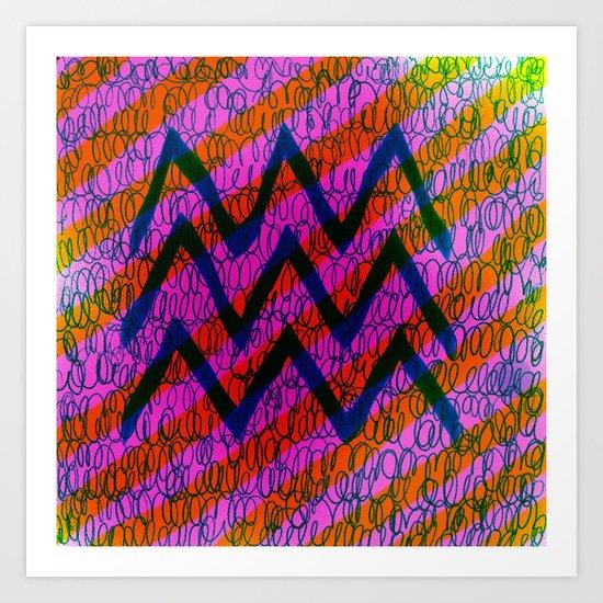 WEIRD Art Print