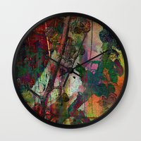 chinese Wall Clocks featuring Chinese wall by dominiquelandau