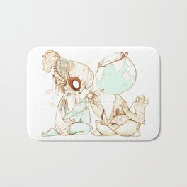 Wish-fish Bath Mat