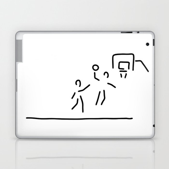 basketball usa basketball player Laptop & iPad Skin