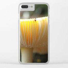 Mushroom L Clear iPhone Case