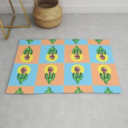 Prickly Cactus  Rug