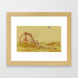 Young At Heart Framed Art Print